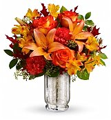 Flower Bouquets: Fall Blush Bouquet
