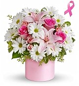 Flower Bouquets: Breast Cancer Awareness Month Bouquet