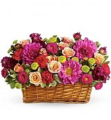 Flower Bouquets: Burst of Basket Beauty