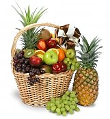 Fruit Gift Baskets: Colossal Get Well Fruit Basket