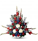 Funeral Flowers: Greater Glory Bouquet