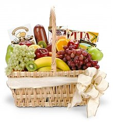 Fruit Gift Baskets: Number One Dad Gourmet Fruit Basket