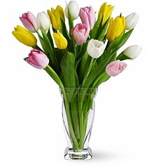Flower Bouquets: Tulip Treasure Bouquet