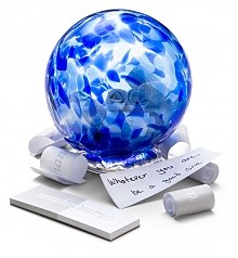 Home Decor: Glass Wishing Globe