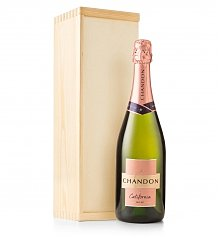 Wine Gift Crates: Chandon Brut Rosé Crate
