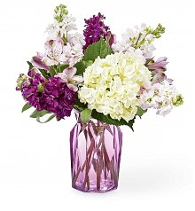 Flower Bouquets: Violet Delight Bouquet